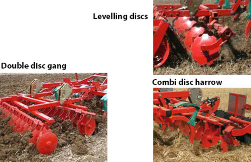 Levelling tines