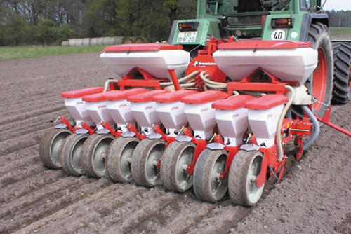 Optima 3m close row sowing